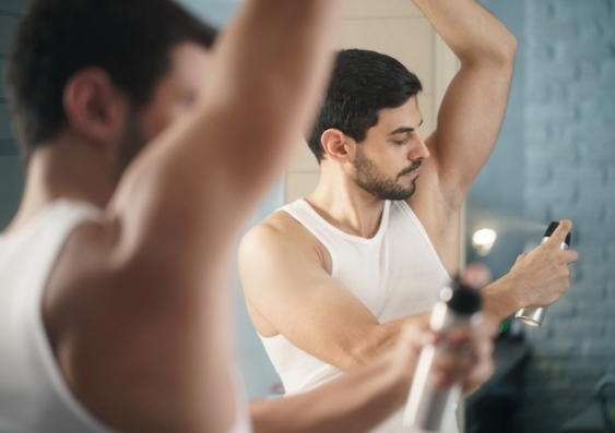 Thinking of dousing yourself in deodorant to make yourself smell better? Think again - a UNSW Engineering researcher explains why. Photo: Shutterstock