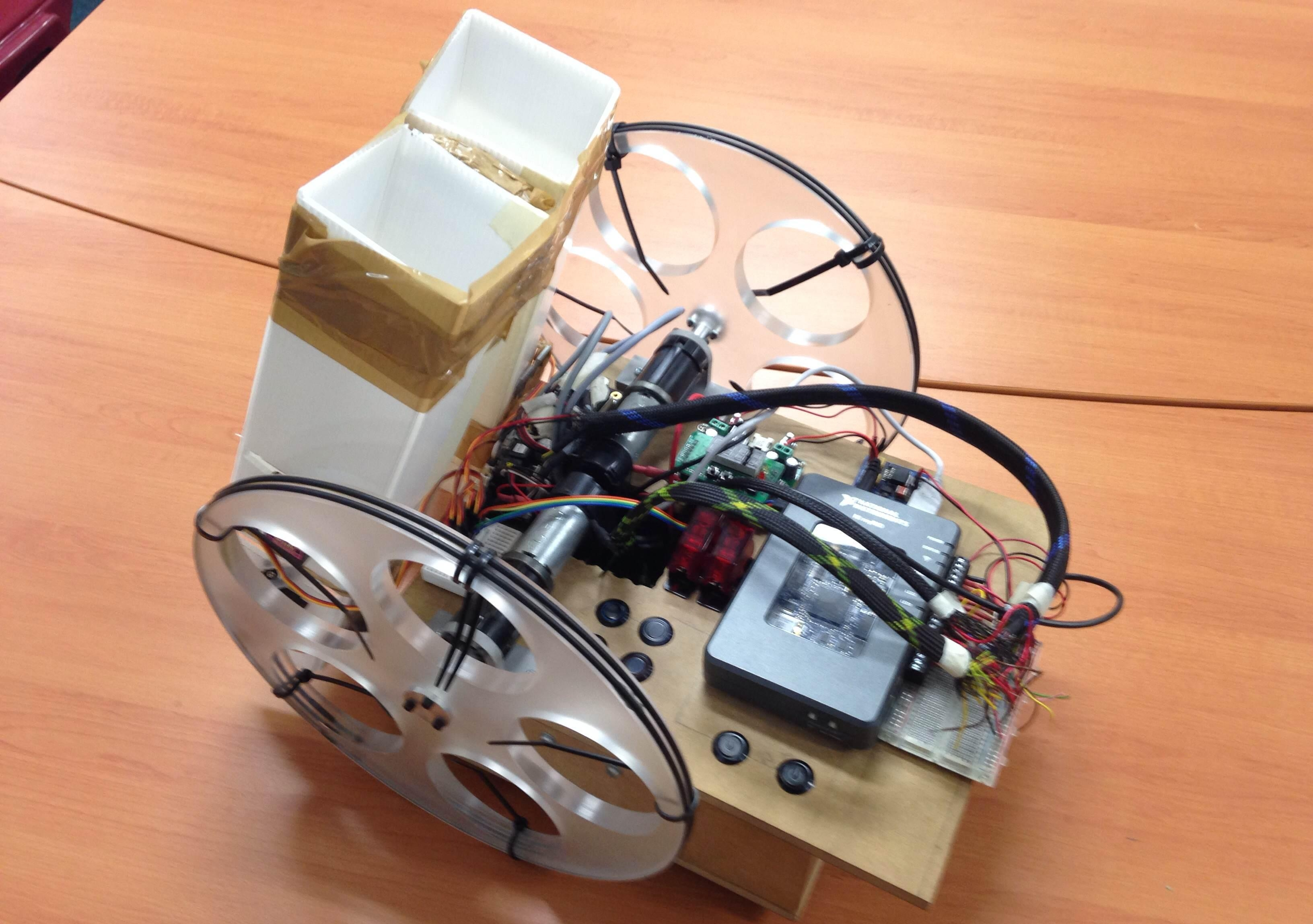 Mechatronics robot 0