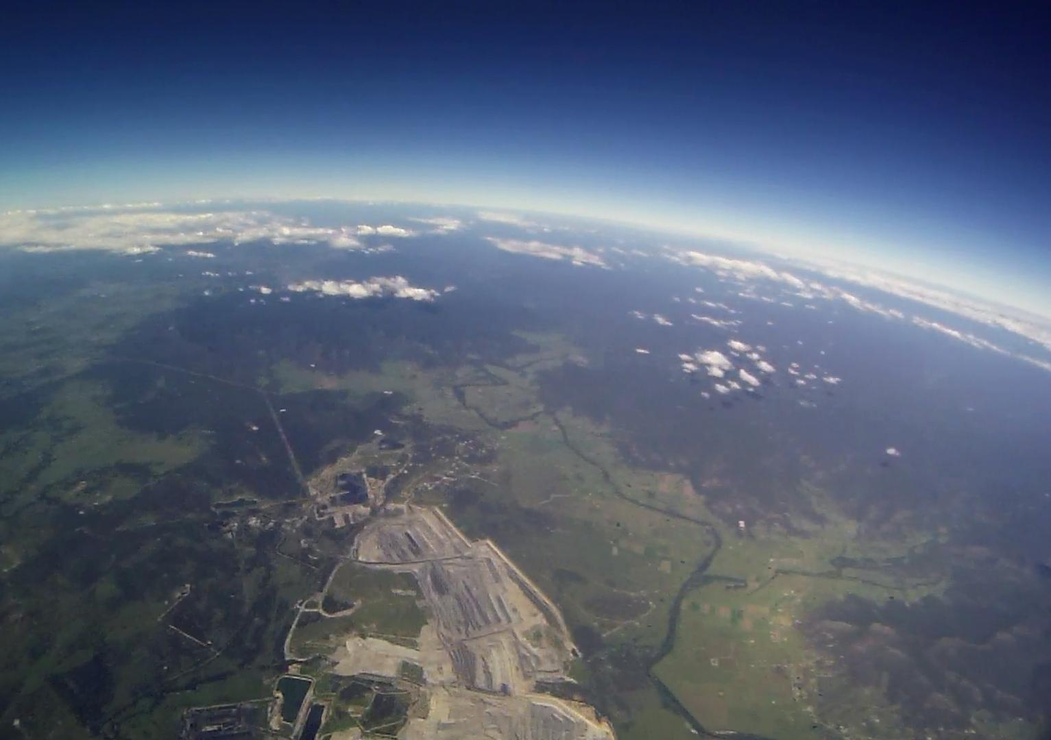 Mount Thorley Open Cut Coal Mine at 6000m. Photo Credit   Jeffrey Peng 0