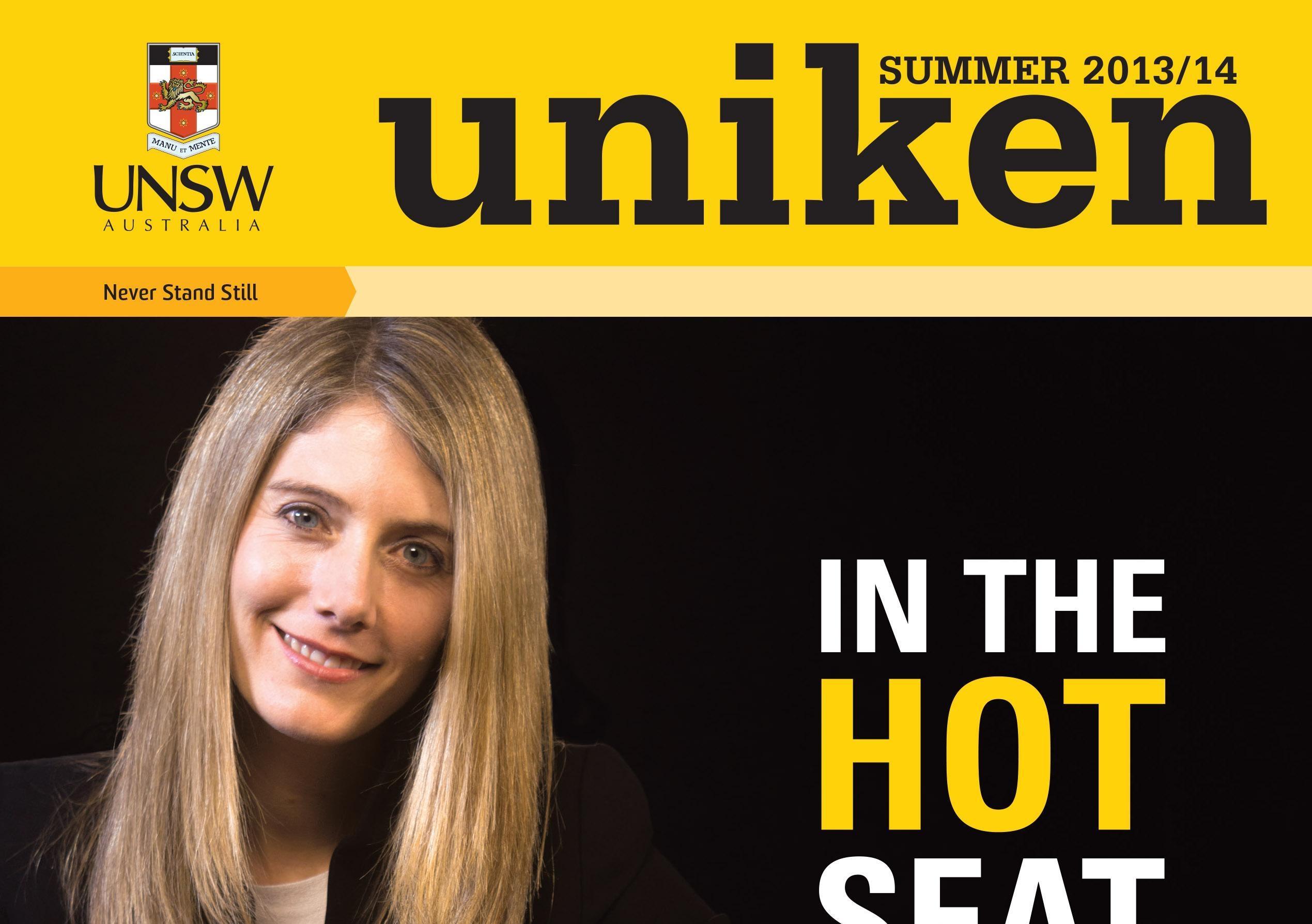UNS6731 UNIKEN Summer 2013 COVER 0