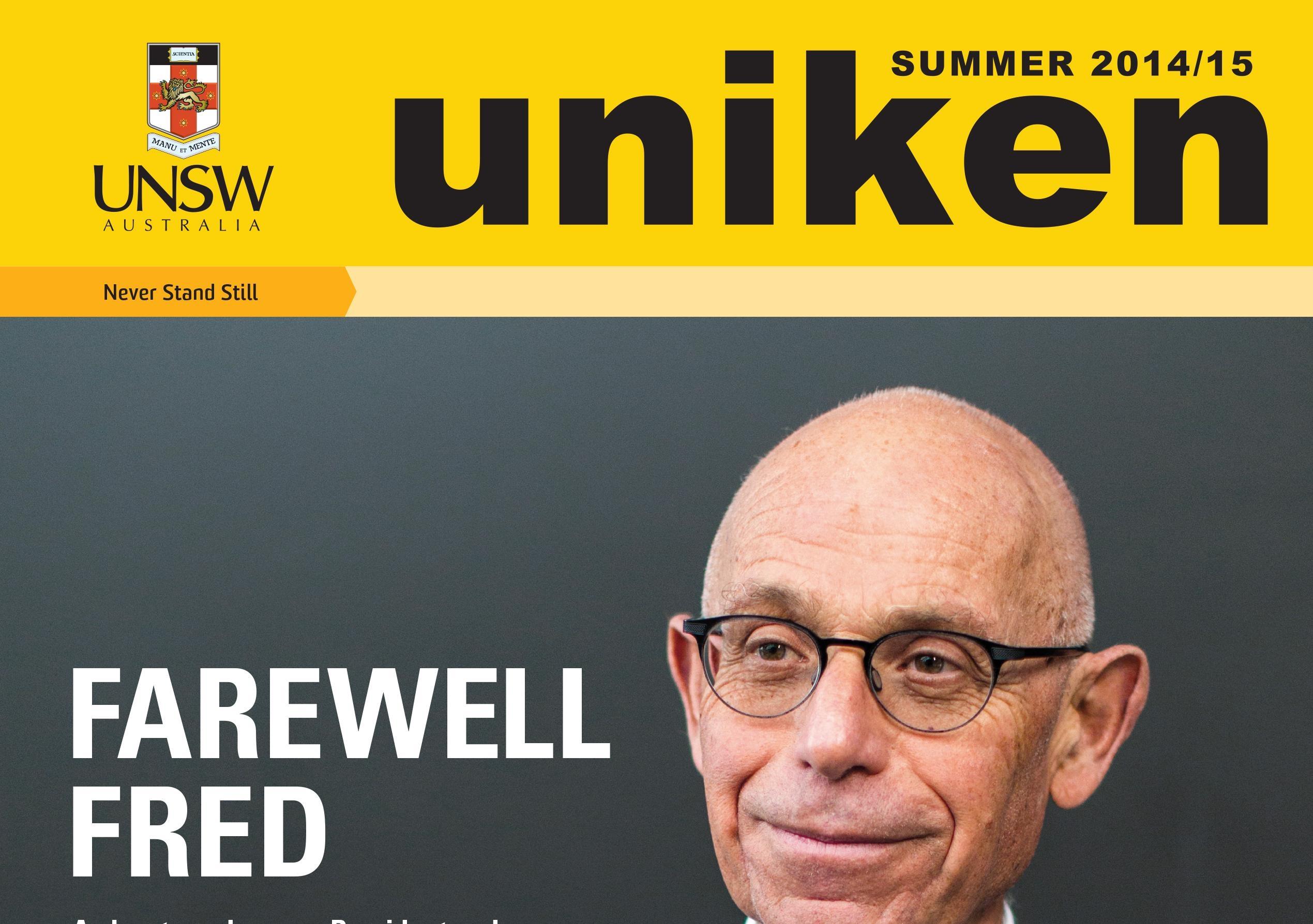 UNS7764 UNIKEN Summer 2014 COVER CMYK HR 1 0