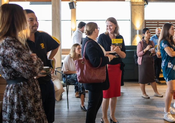 Active Women Strategy Launch guests