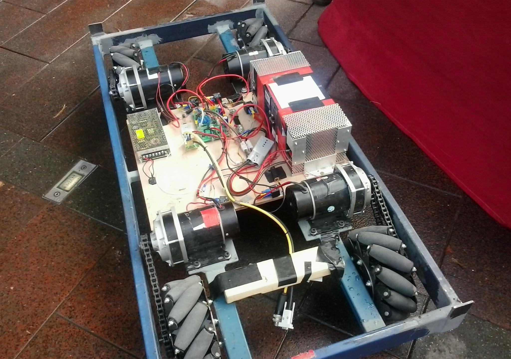 Robocouch insides