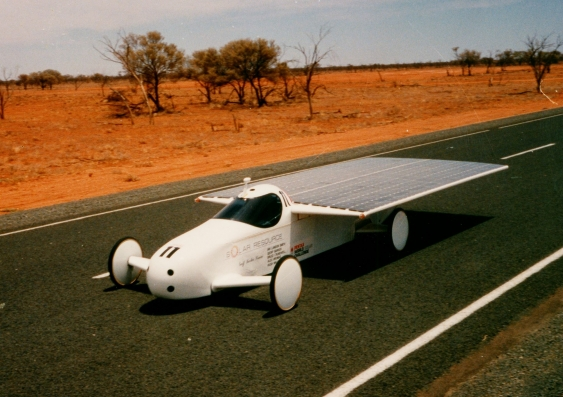 the solar resource car in 1987