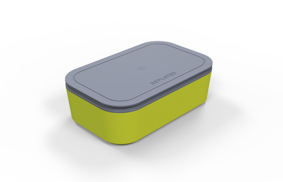 Replated container