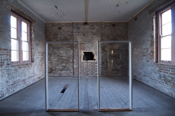 Former isolation cells in Bethel building at Parramatta Girls Home, 2014. Photo: Lucy Parakhina
