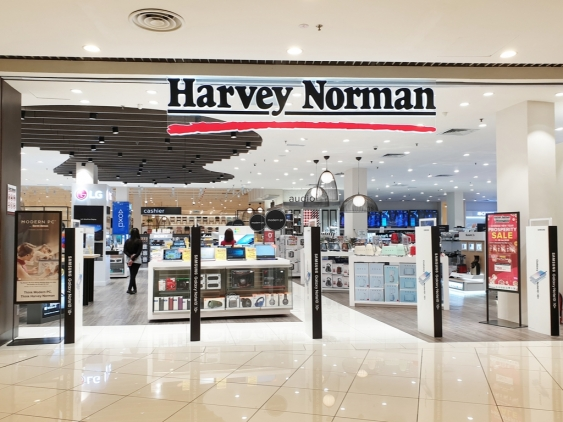 A Harvey Norman store in Penang, Malaysia - one of the emerging markets for the retail giant.