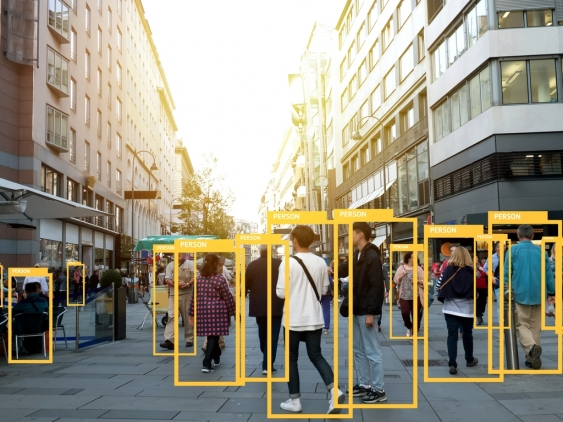 Machine learning analytics enabling facial recognition technology