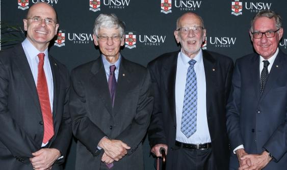Anthony Blackshield, Richard Chisholm, George Williams & David Gonski
