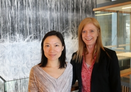 Eva Chan and Vanessa Hayes