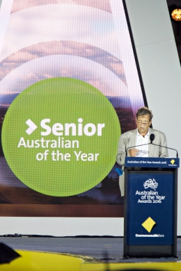 Senior Australian of the Year award for emergency medicine
