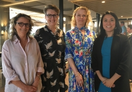 Robyn Norton, Louise Chappell, Zoe Wainer and Cheryl Carcel