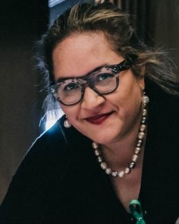 Professor Megan Davis at the Uluru Constitutional Convention in 2017