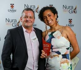 Nura Gili Indigenous Award winner Tamina Pitt