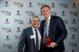 Nura Gili Indigenous Awards winner Noah Bedford