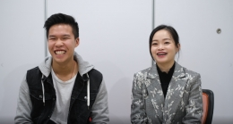 Culturestride co-founders Michael Liang and Masae Zhang.