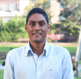 UNSW Business School Graduate Shawn Noronha.