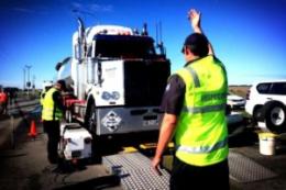 Truck weigh