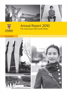 UNSW AR2010 Volume1 Cover 0