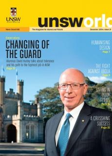 UNSWorld Dec 14 Cover