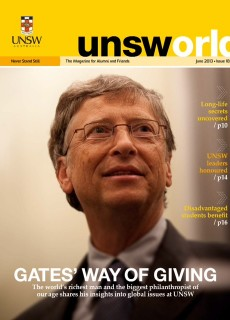 UNSWorld June 2013 Issue 18 Cover Image