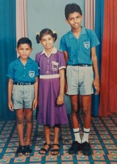 Asheeta Prasad as a child in Fiji