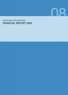 Financialreport 2008