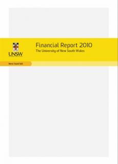 Financialreport 2010