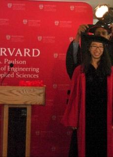 Harvard Graduation of Anna Wang
