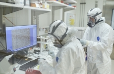 kirby institute researchers in the lab