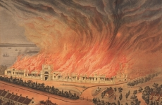Burning of the Garden Palace