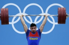 Romanian weightlifter at the Olympic Gamers