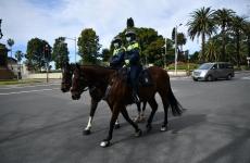 police on horseback on the streets of Sydney.jpeg