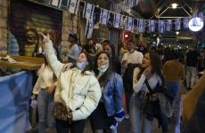 People celebrate in Israel