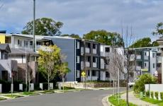 New medium-density housing in Penrith NSW