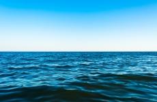 View over an ocean