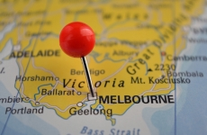Map of Melbourne and Victoria