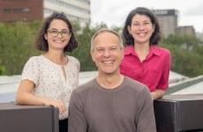 Dr Anna Bruce, Associate Professor Iain MacGill and Naomi Stringer.