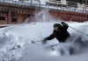 Scott Kneller skiing