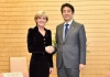 Julie Bishop and Shinzo Abe