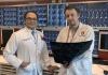 Dr Ashish Diwan and Dr Kyle Sheldrick.