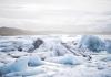 Icebergs adrift