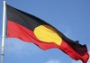 Aboriginal flag inside