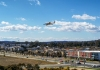 Drone flies cover suburb