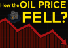 How the oil price fell?