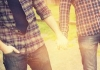 Gay couple cropped