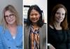 Helen Christensen, Kathy Wu and Janice Fullerton