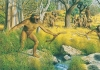Artist's interpretation of an Australopithecus family