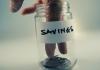 savings, jar, money