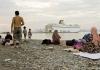 Migrants on the Greek island Kos